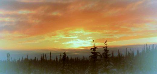 A sunset scene