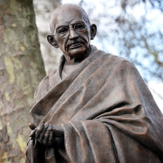 Statue of Mahatma Gandhi, London