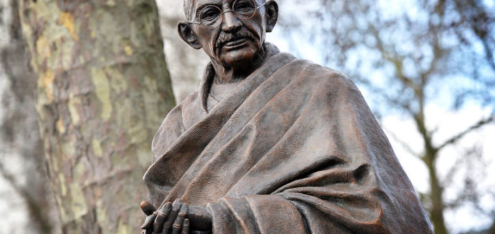 Statue of Mahatma Gandhi, London