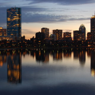 View of Boston skyline