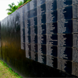 Memorial to those killed in Rwanda in 1994